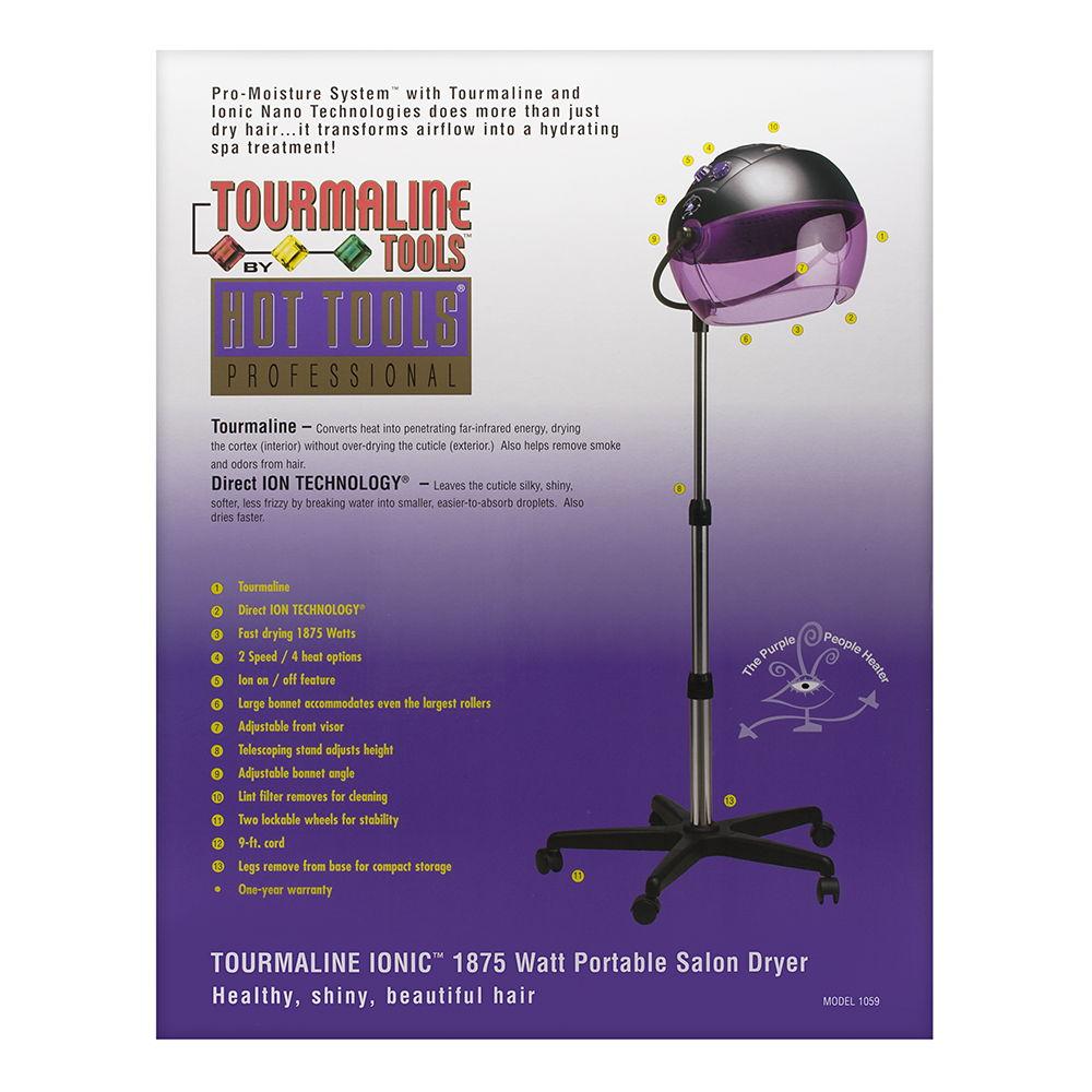 Hot Tools Professional Tourmaline Ionic Portable Salon Dryer photo