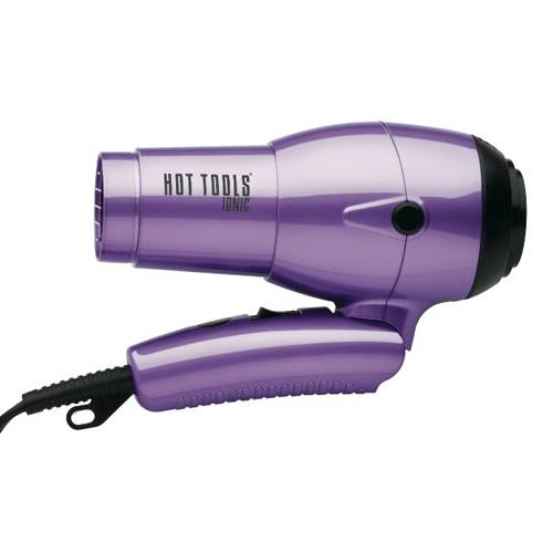 Hot Tools Ionic About Dryer with Folding Handle and Dual Voltage 1875 Watts