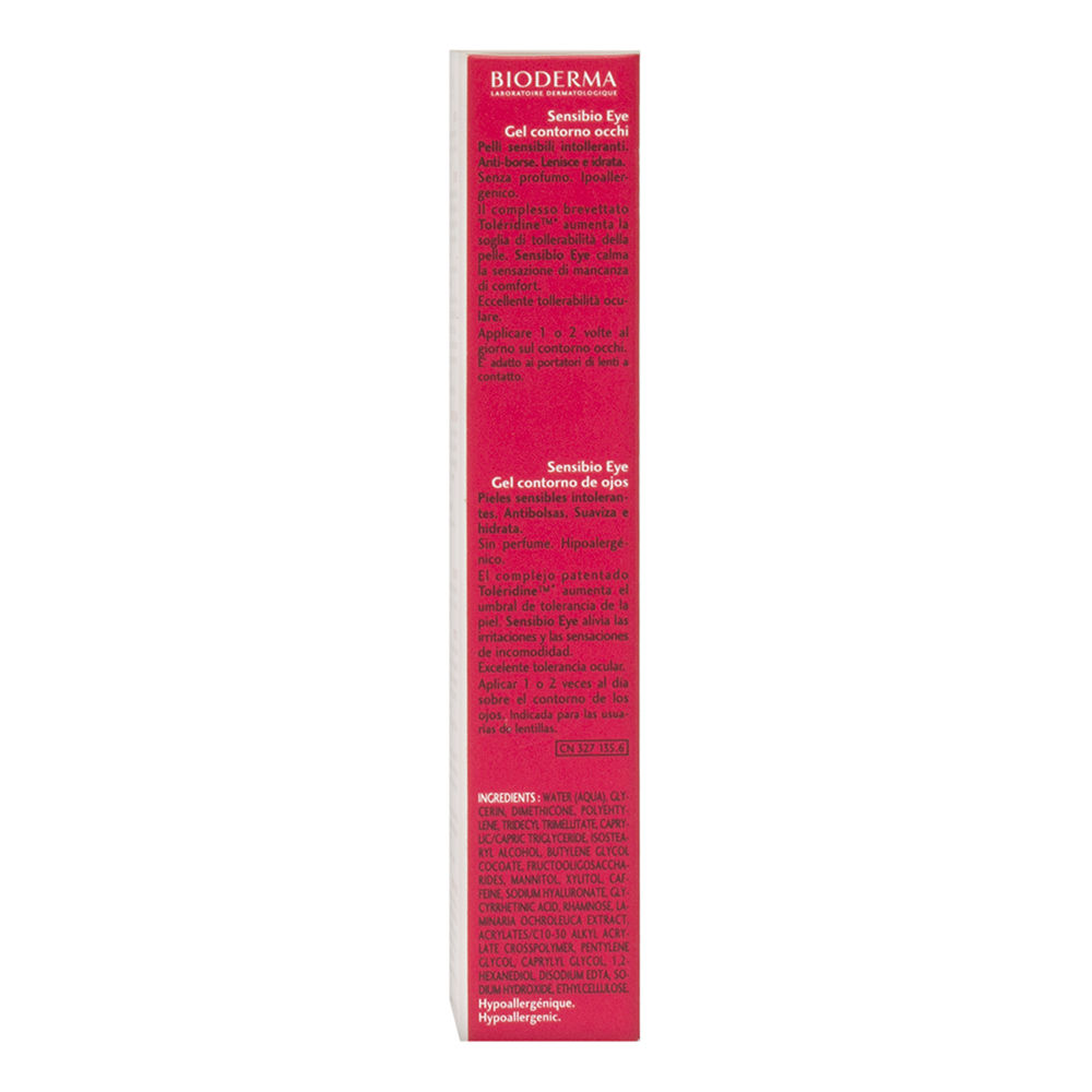 Sensibio Gel Eye Contour 0.5 fl oz Age Defying Hand Mask Creamy Oil Infused Cloth - 1 Count by Karuna (pack of 2)