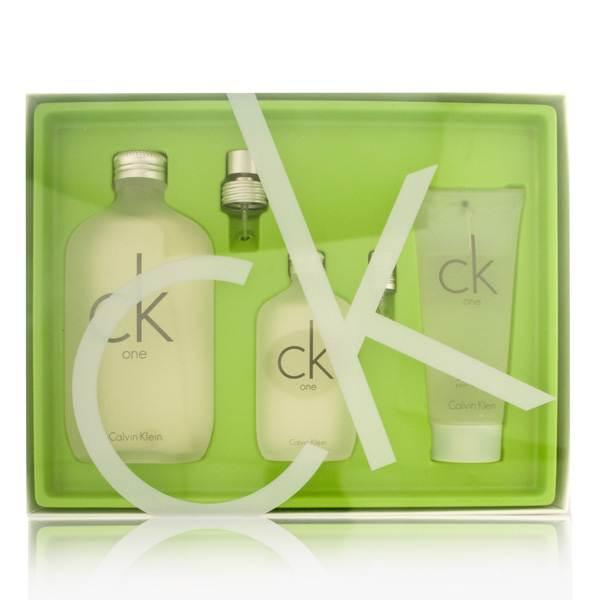 Coty CK One by Calvin Klein 6.7oz EDT Spray Body Wash Gift Set