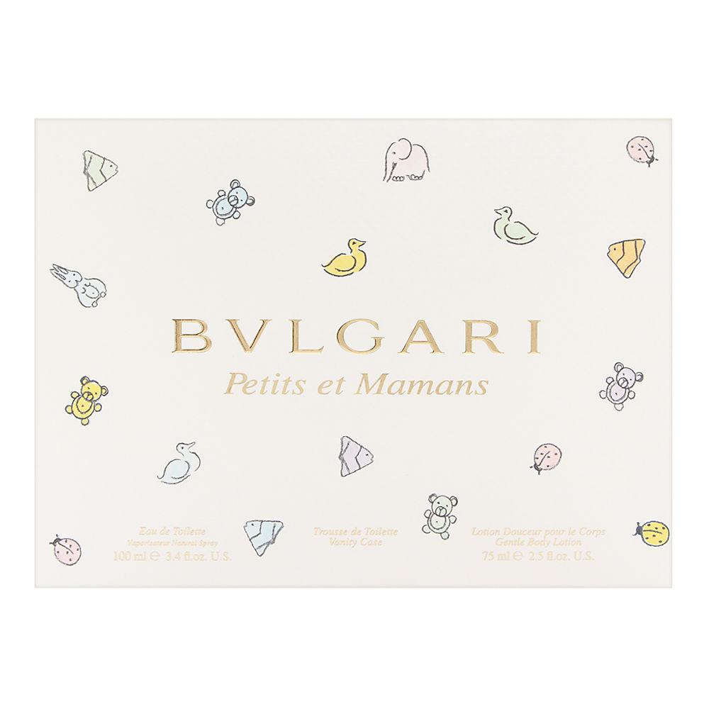 Bvlgari Petits et Mamans by Bvlgari 3.4oz EDT Spray Body Lotion Gift Set