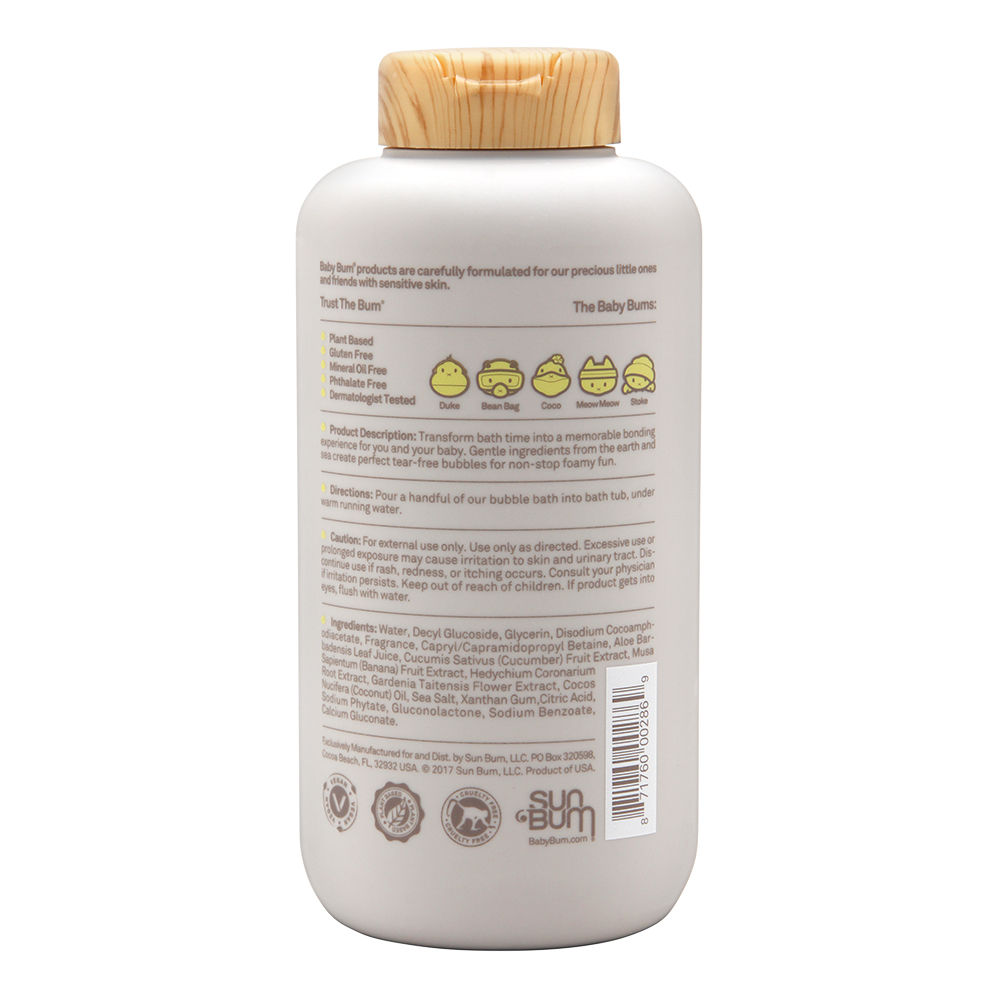 Sun Bum Baby Bum Bubble Bath Natural