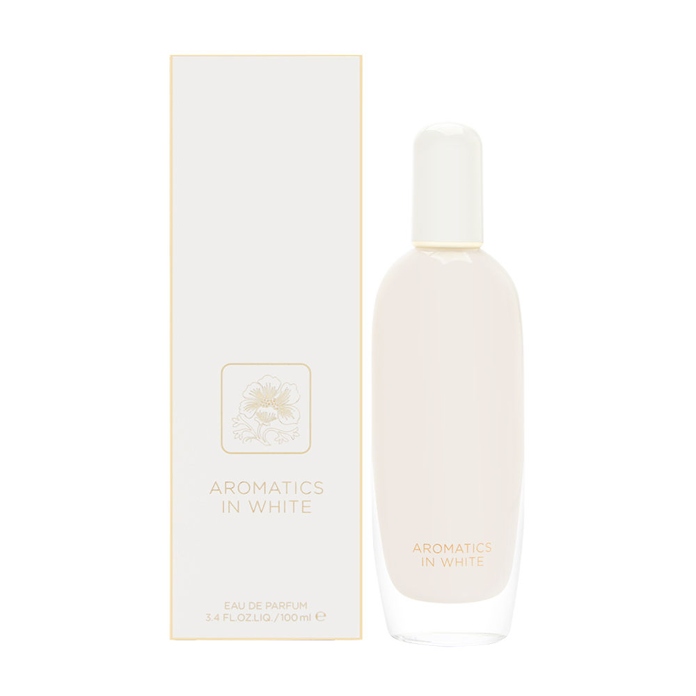 Aromatics In White by Clinique for Women 3.4oz EDP Spray Shower Gel