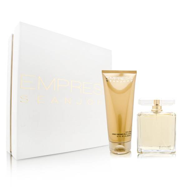 Empress by Sean John Fragrances for Women 3.4oz EDP Spray Body Cream Gift Set
