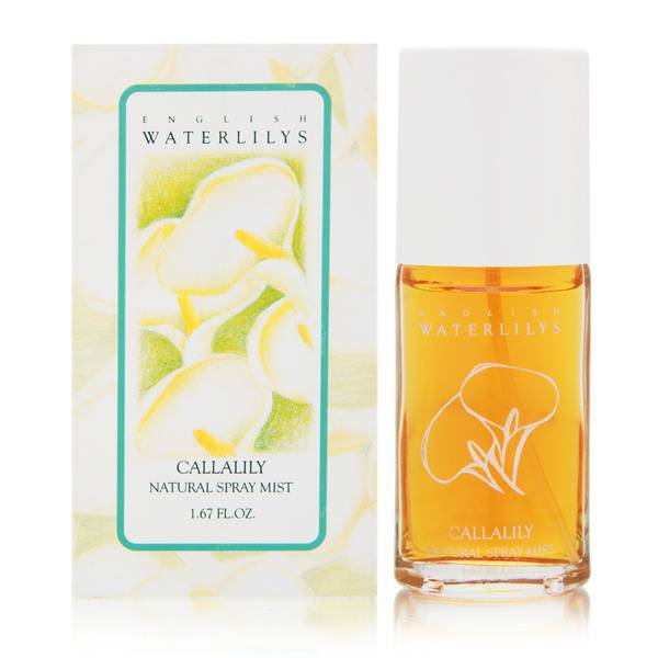 English Waterlilys Callalily by Alyssa Ashley for Women 1.67oz Spray Shower Gel