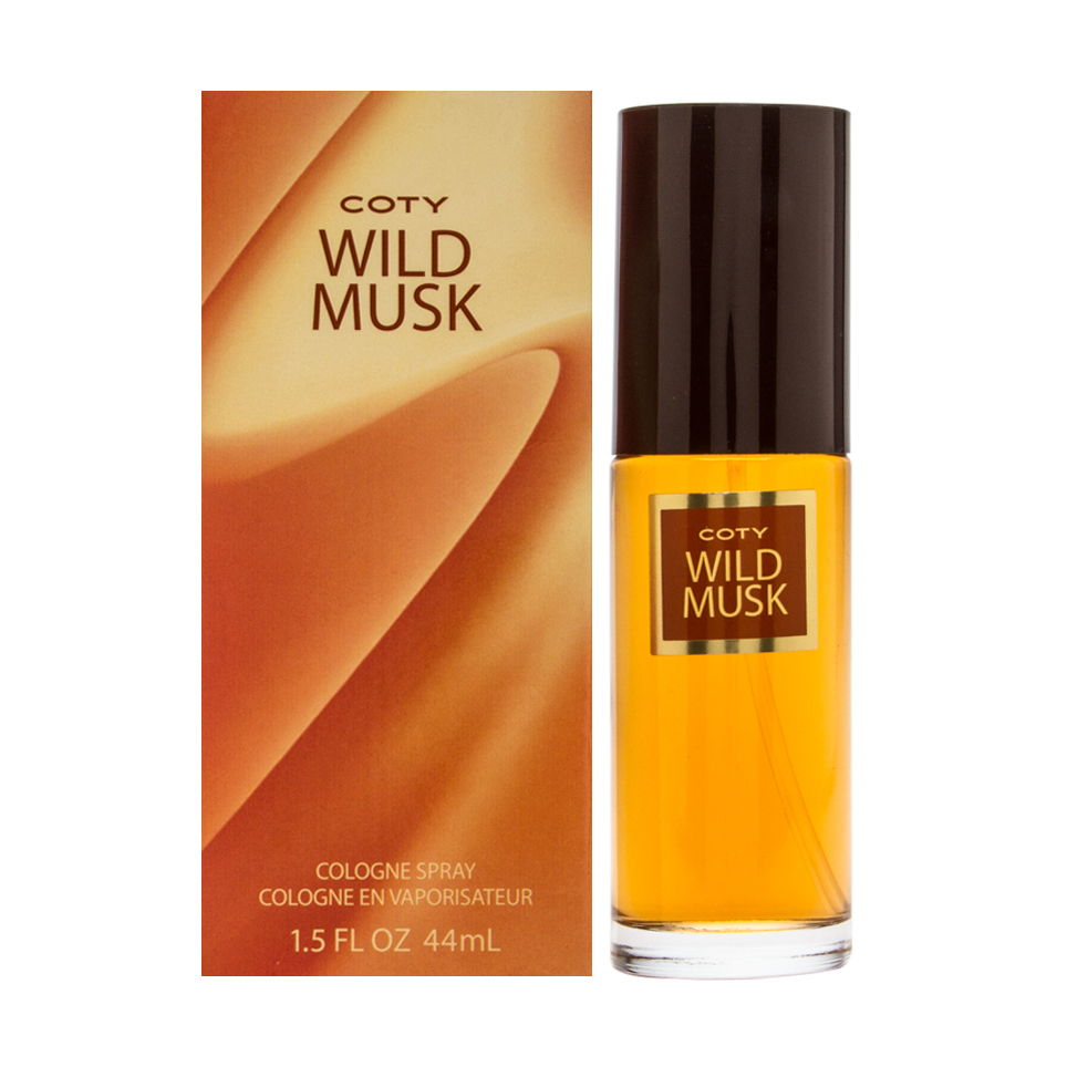 Coty Wild Musk by Coty for Women 1.5oz Cologne Spray