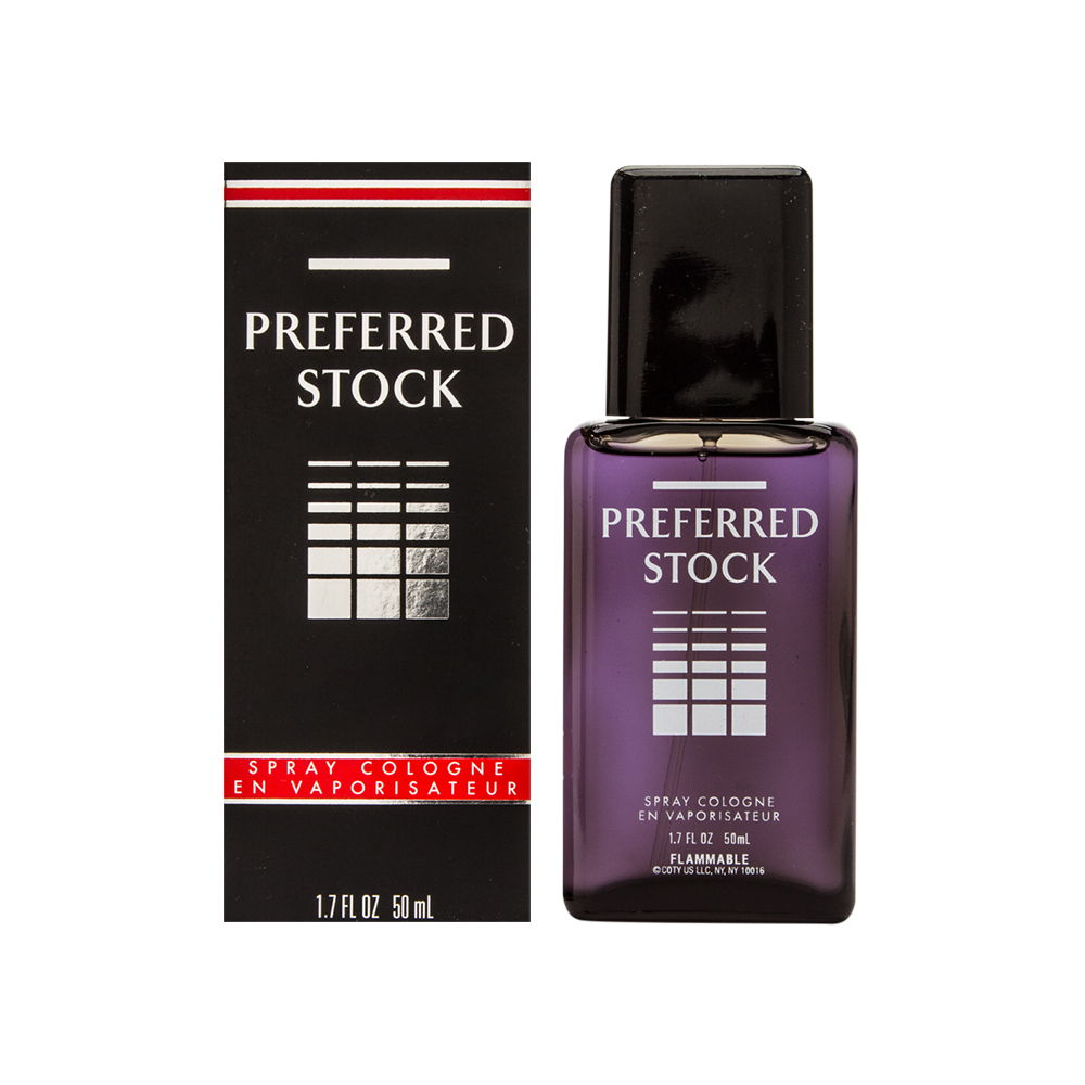 Preferred Stock by Coty for Men 1.7oz Cologne Spray Shower Gel