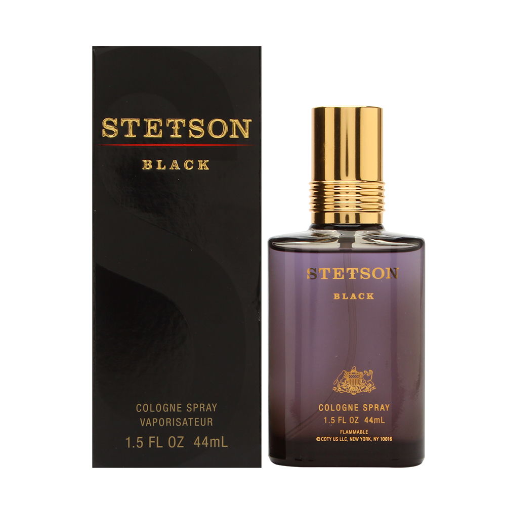 Stetson Black by Coty for Men 1.5oz Cologne Spray Shower Gel
