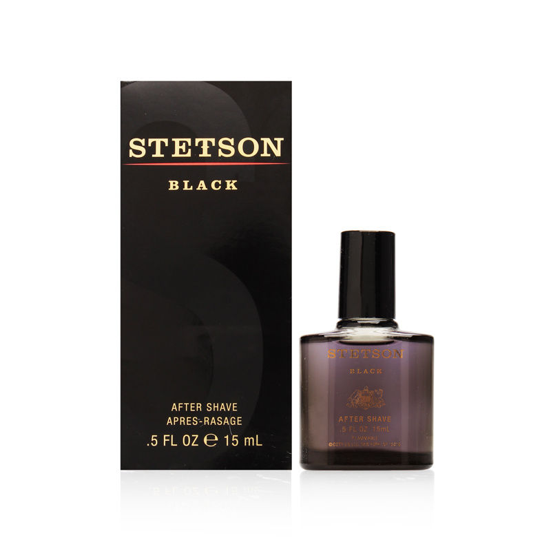 Stetson Black by Coty for Men 0.50oz Aftershave