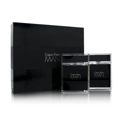 Calvin Klein Man by Calvin Klein  men 3.4oz EDT Spray Aftershave Gift Set