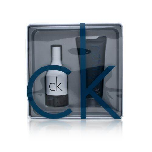 CK IN2U by Calvin Klein for Men 1.7oz EDT Spray Body Wash Gift Set