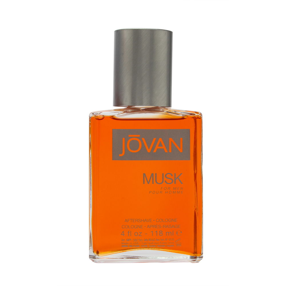 Jovan Musk by Coty for Men 4.0oz Cologne Aftershave
