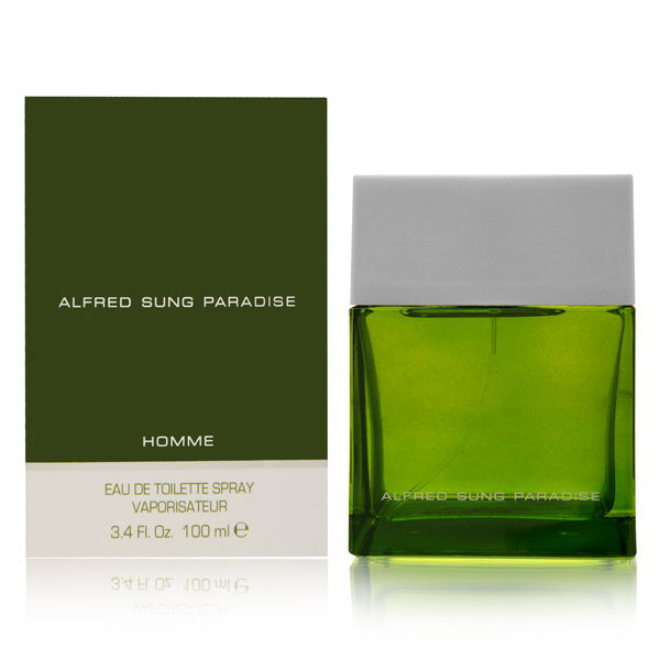 Paradise by Alfred Sung for Men 3.4oz EDT Spray Shower Gel