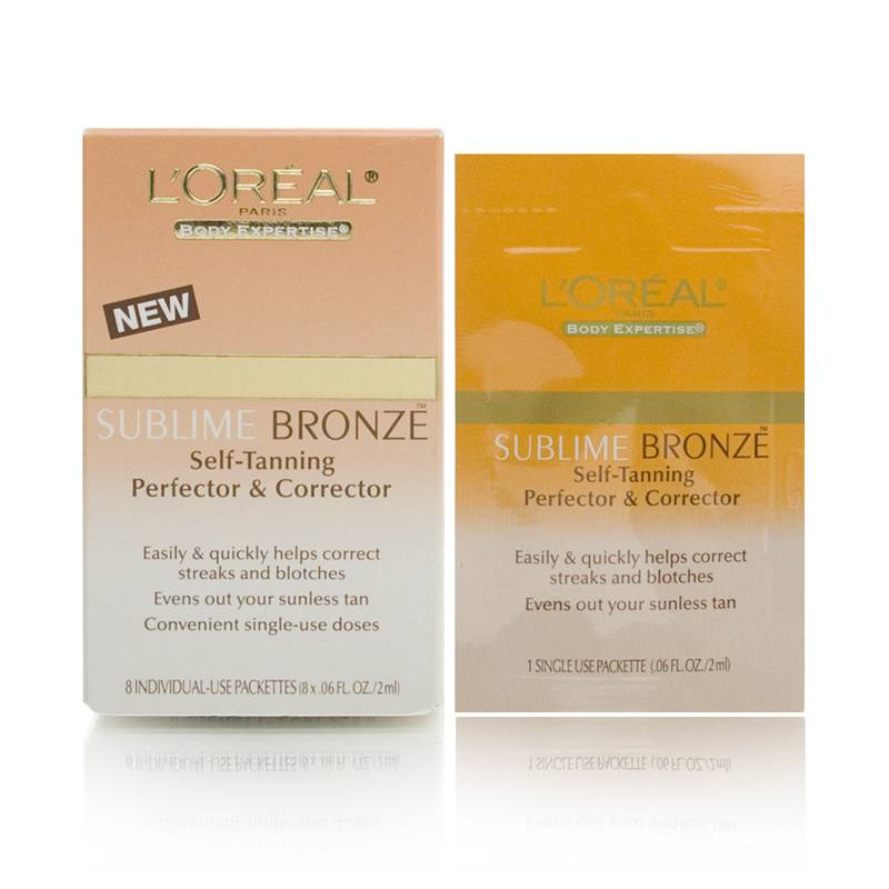 L'Oreal Body Expertise Sublime Bronze Self-Tanning Perfector & Corrector
