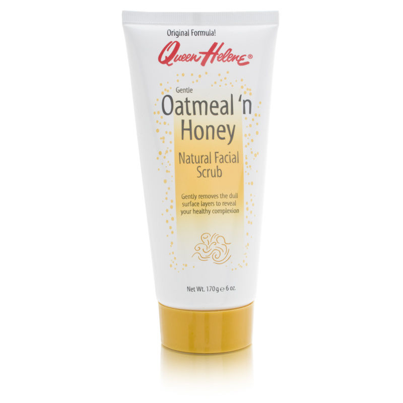 Queen Helene Gentle Oatmeal 'n Honey Natural Facial Scrub