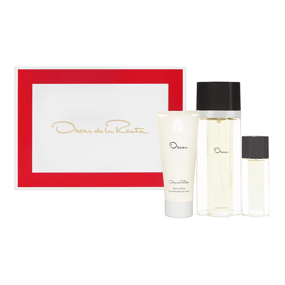 Oscar by Oscar de la Renta for Women 3.4oz EDT Spray Body Lotion Gift Set