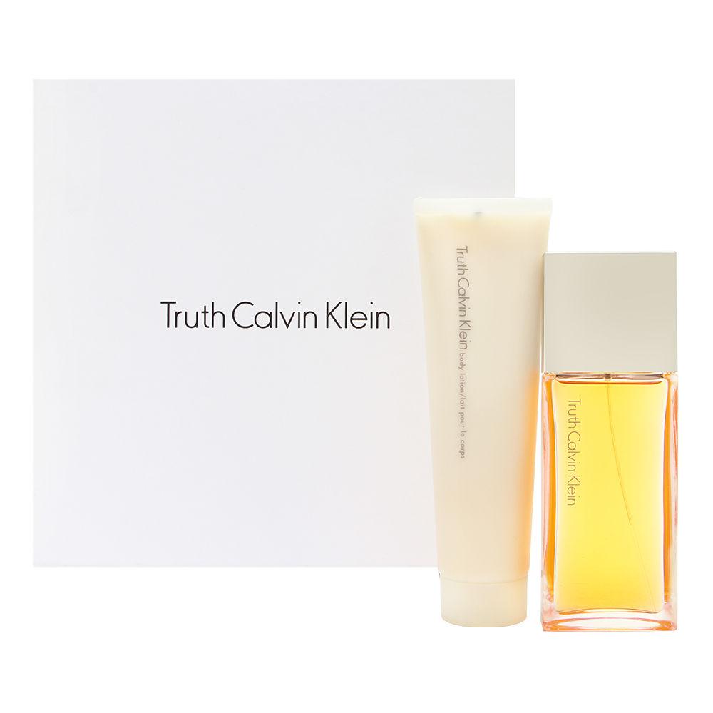 Truth by Calvin Klein for Women 1.7oz EDP Spray Body Lotion Gift Set