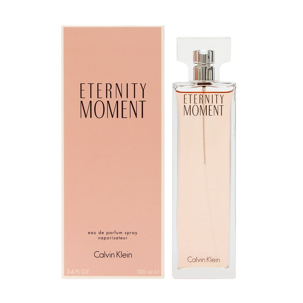 Eternity Moment by Calvin Klein for Women 3.4oz EDP Spray Shower Gel