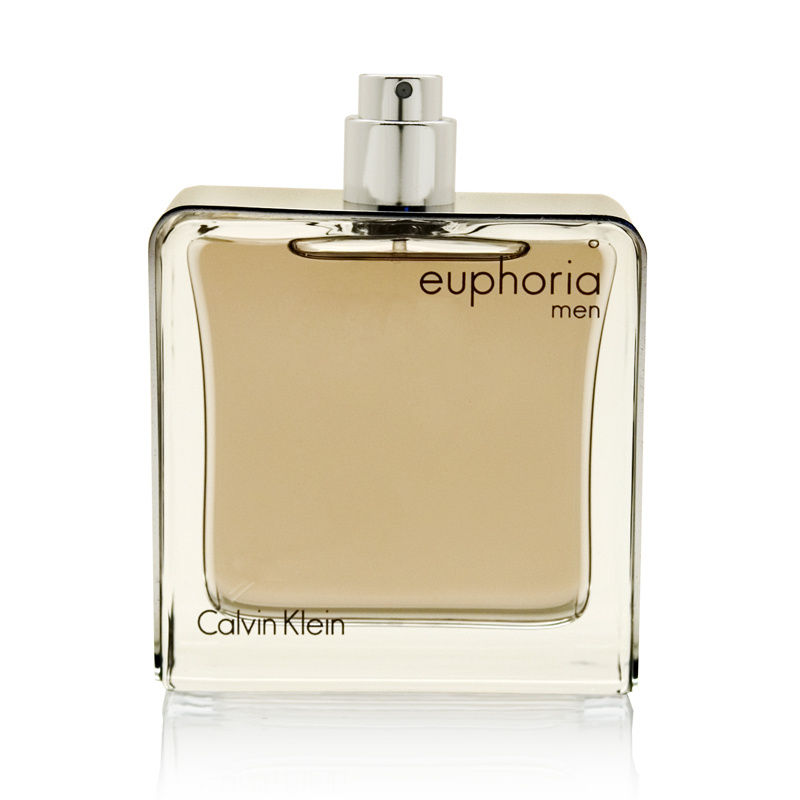 Euphoria Men by Calvin Klein 3.4oz Cologne EDT Spray (Tester) Shower Gel
