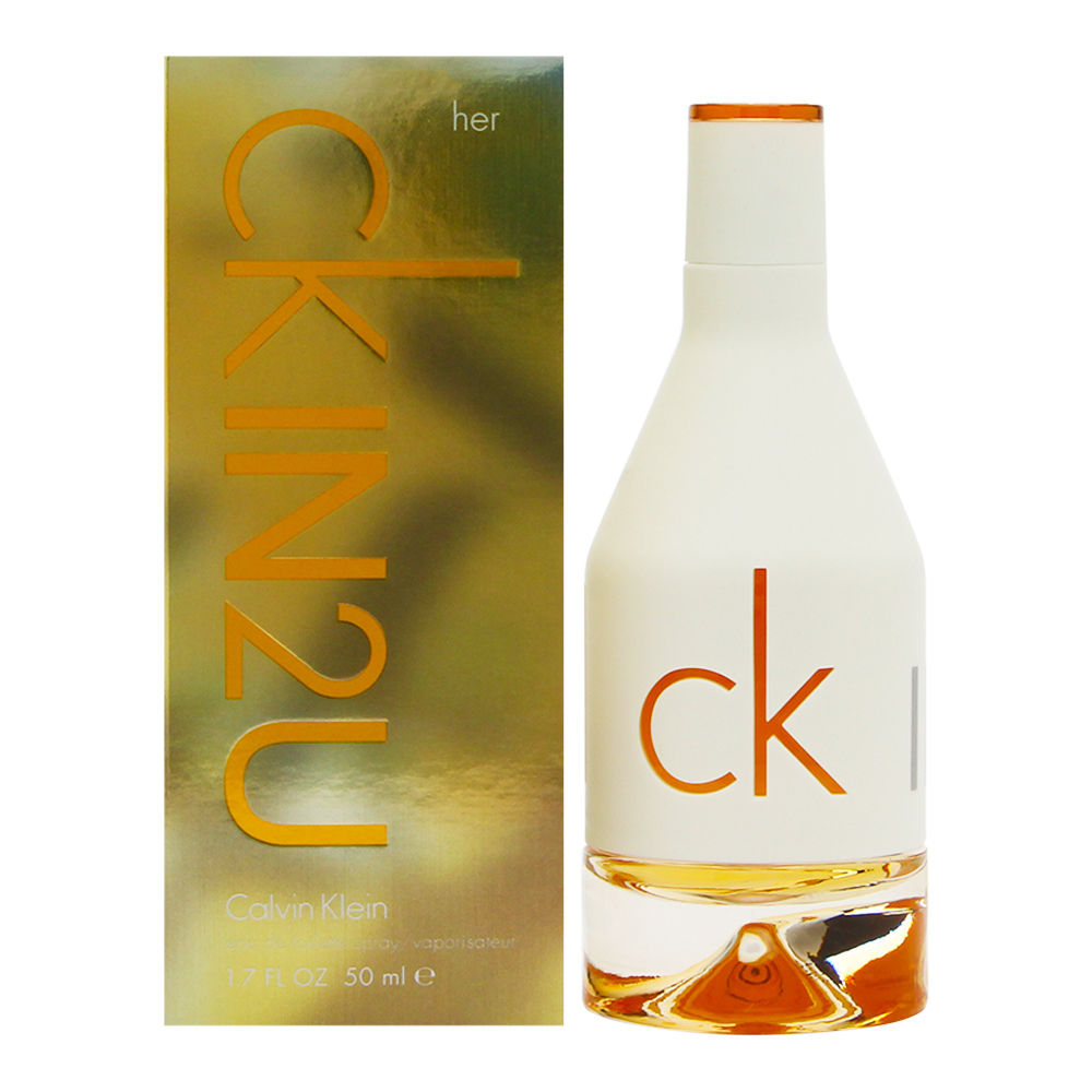 CK IN2U by Calvin Klein for Women 1.7oz EDT Spray Shower Gel