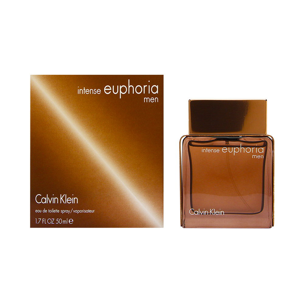 Euphoria Intense by Calvin Klein for Men 1.7oz EDT Spray Shower Gel