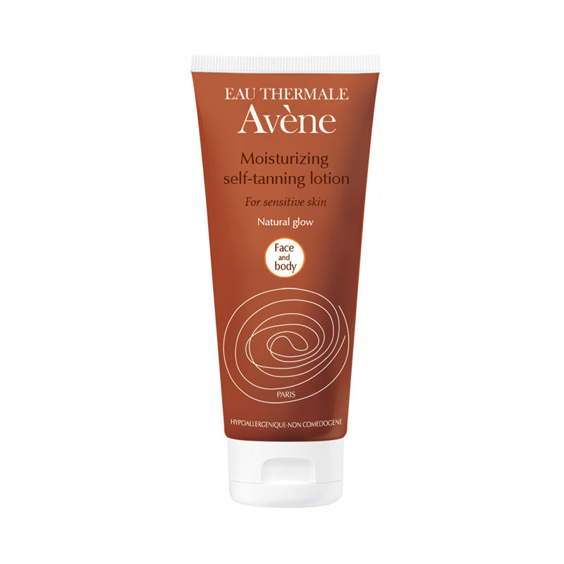 Avene Eau Thermale Moisturizing Self-Tanning Lotion for Face and Body