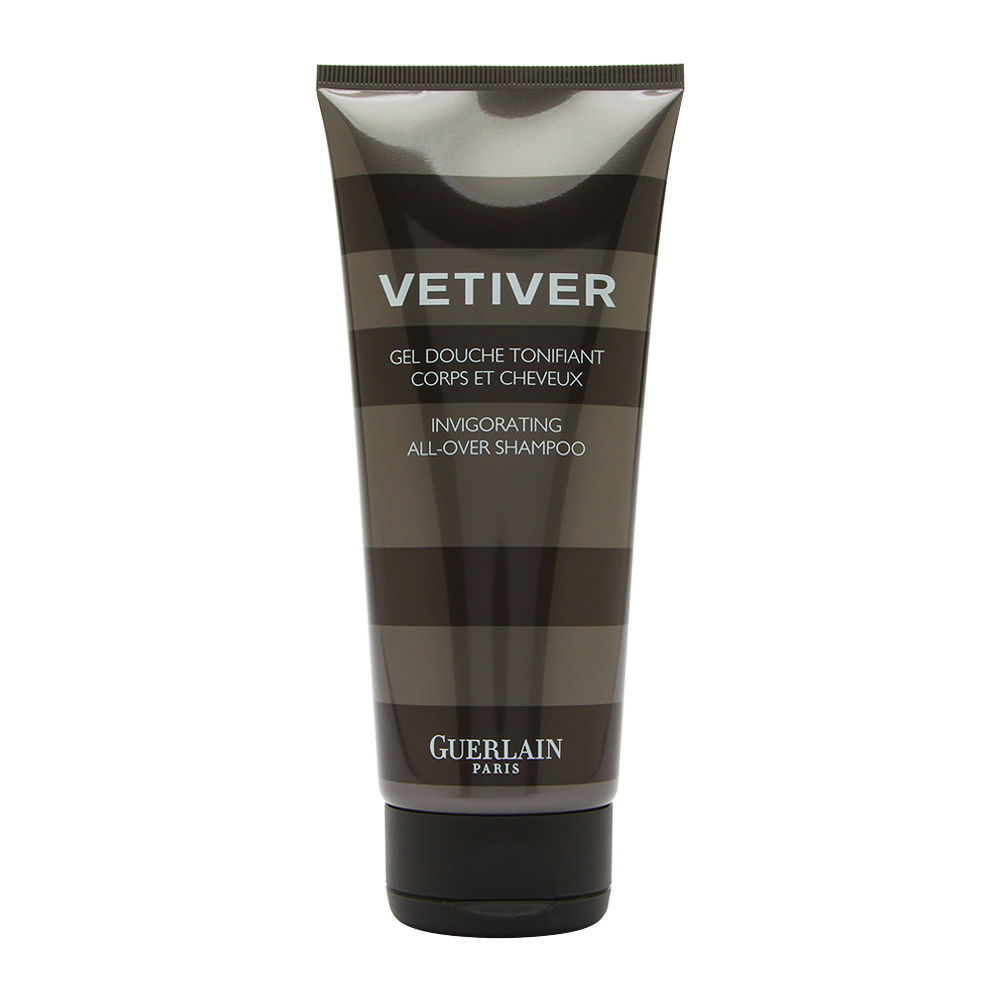 Vetiver by Guerlain for Men 6.8oz Body Wash Shower Gel