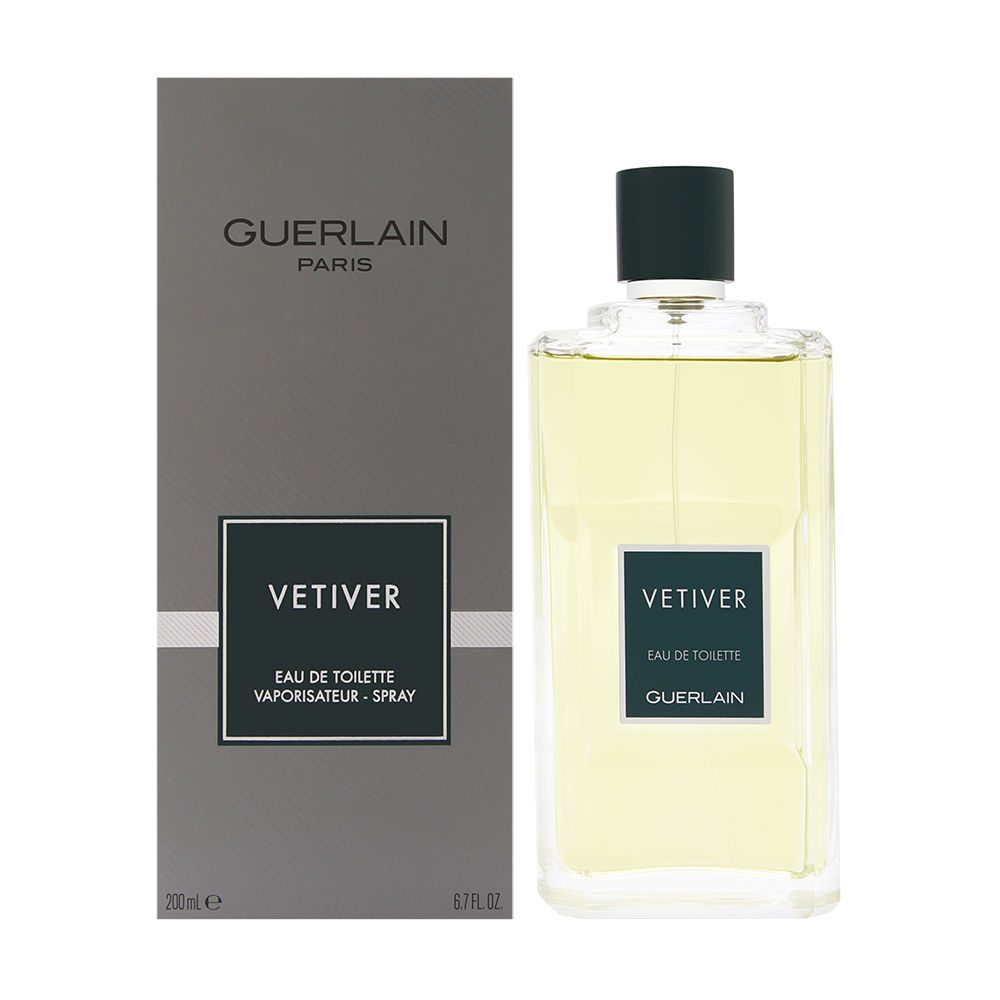 Vetiver by Guerlain for Men 6.8oz EDT Spray Shower Gel