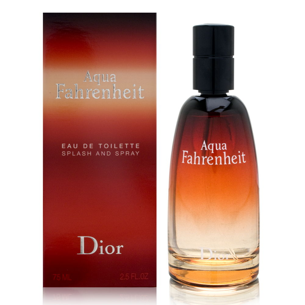 Aqua Fahrenheit by Christian Dior for Men 2.5oz EDT Spray