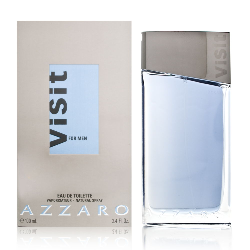Visit by Loris Azzaro for Men 3.4oz EDT Spray Shower Gel