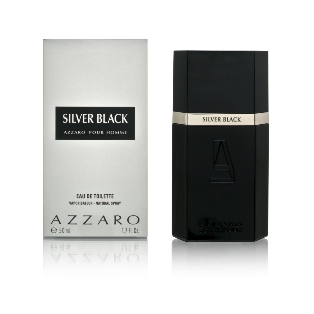 Azzaro Silver Black by Loris Azzaro for Men 1.7oz EDT Spray