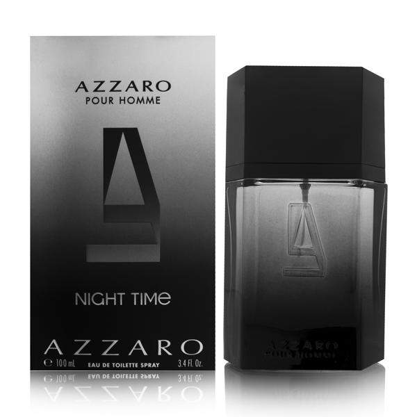 Azzaro Night Time by Loris Azzaro for Men 3.4oz EDT Spray