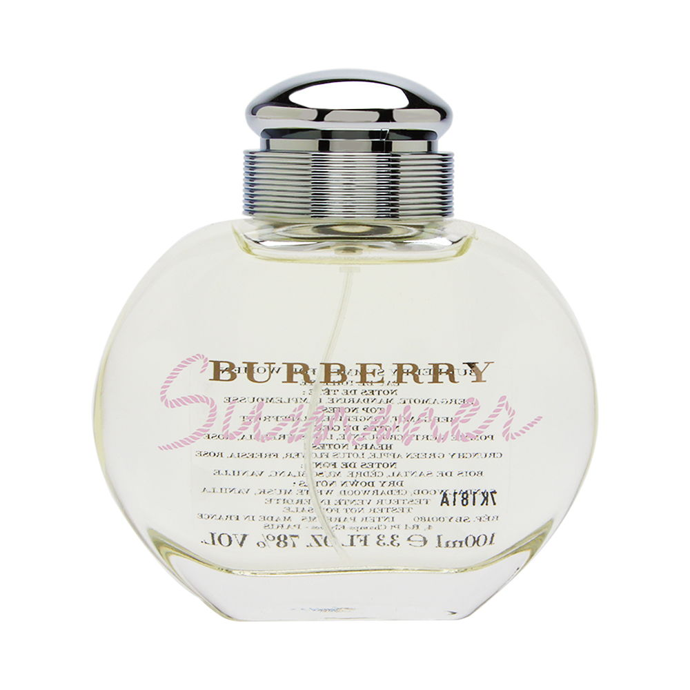 Burberry Summer by Burberry for Women 3.3oz EDT Spray (Tester) Shower Gel