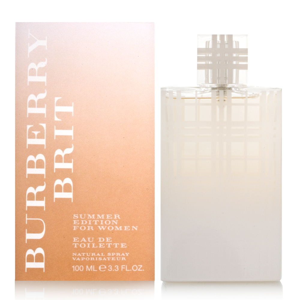 Burberry Brit Summer by Burberry for Women 3.3oz EDT Spray