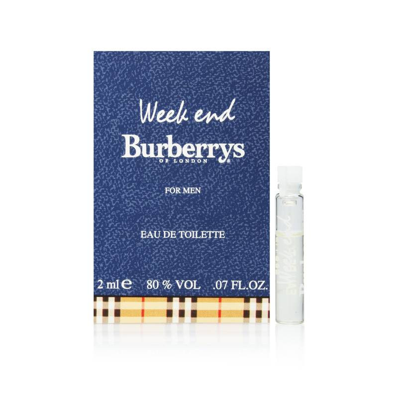Burberry Weekend by Burberry for Men 0.07oz Cologne EDT
