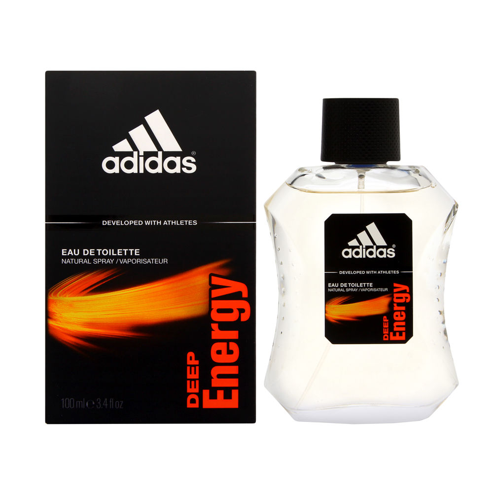 Adidas Deep Energy by Coty for Men 3.4oz EDT Spray