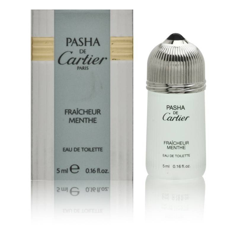 Pasha de Cartier Fraicheur Menthe by Cartier for Men 0.16oz Cologne EDT