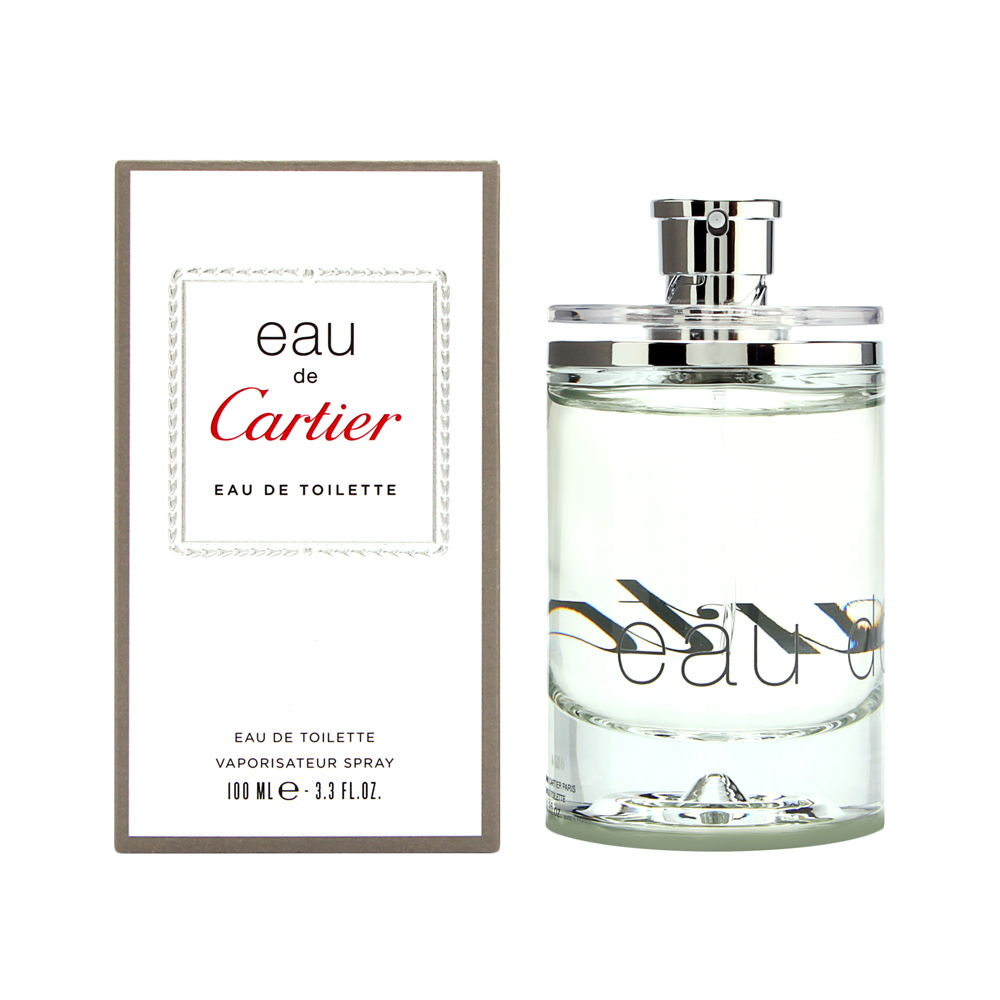 Eau de Cartier by Cartier 3.3oz EDT Spray Shower Gel