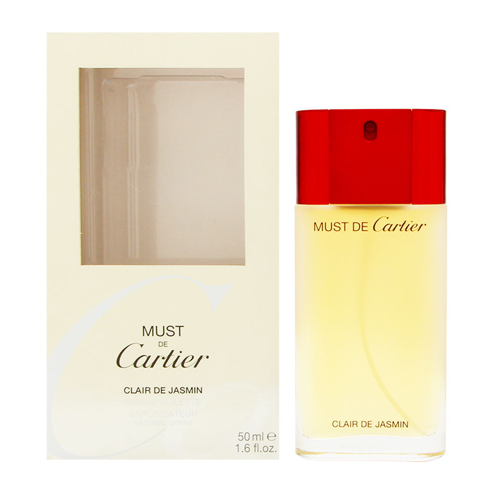 Must de Cartier Claire de Jasmin by Cartier for Women 1.6oz EDT Spray Shower Gel