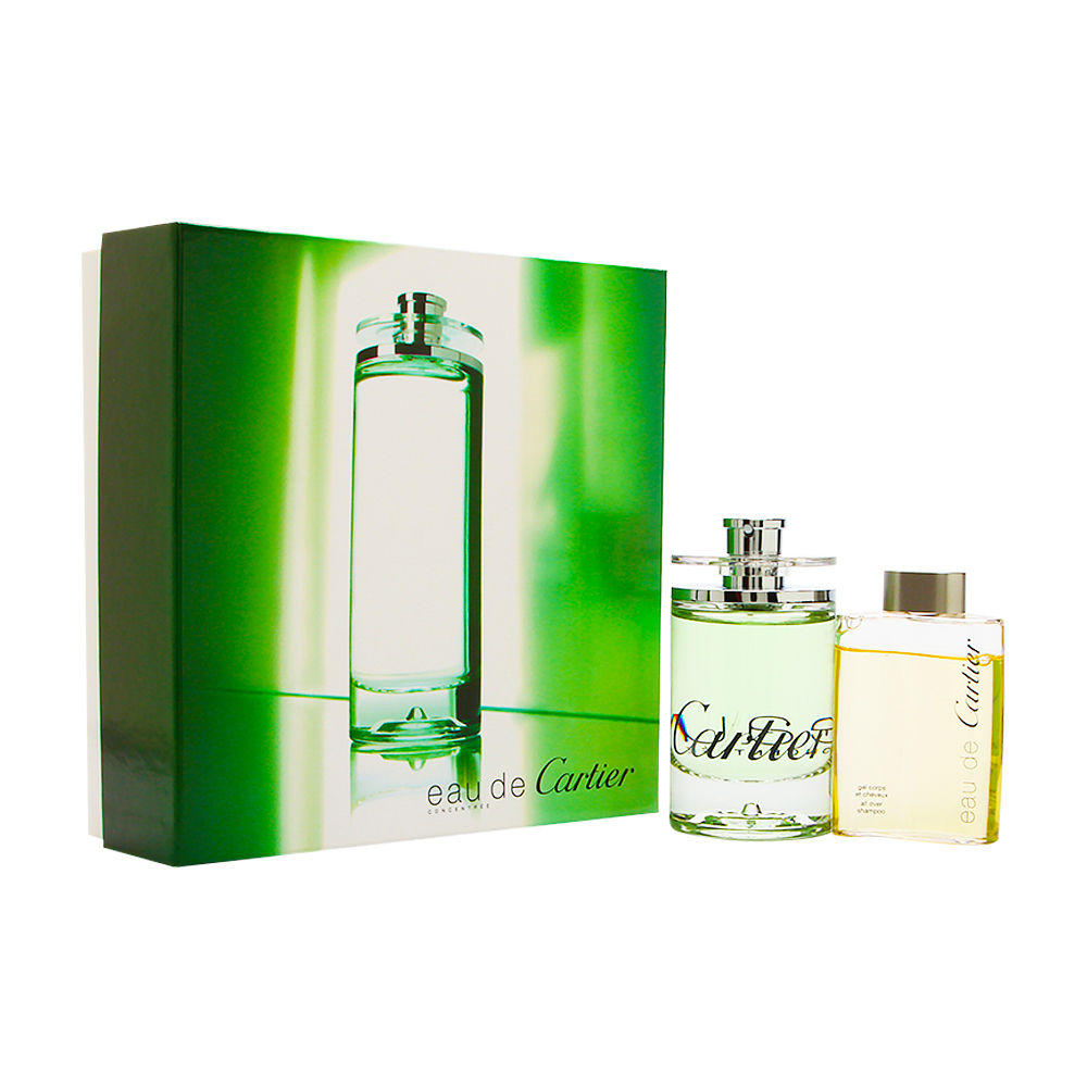 Eau de Cartier Concentree by Cartier 3.3oz EDT Spray Gift Set