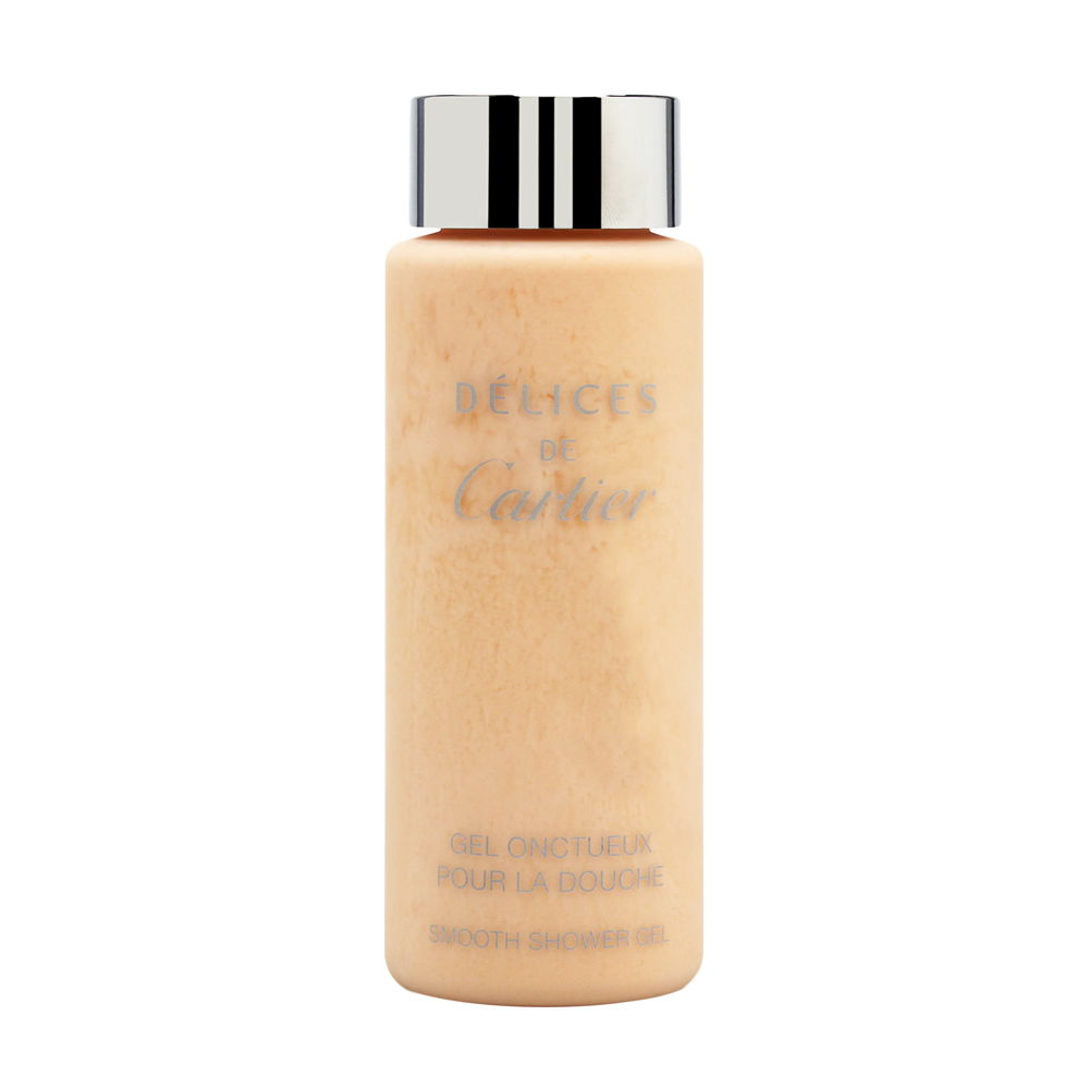 Delices de Cartier for Women 3.3oz Body Wash Shower Gel