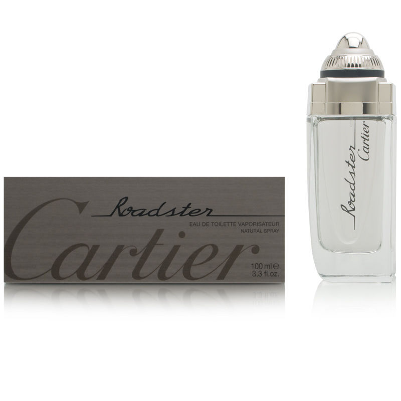 Roadster by Cartier for Men 3.3oz EDT Spray Shower Gel