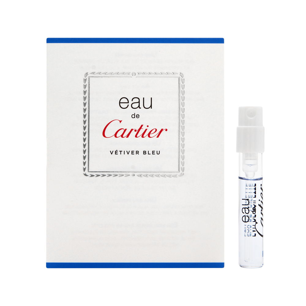 Eau De Cartier Vetiver Bleu by Cartier 0.05oz EDT Spray