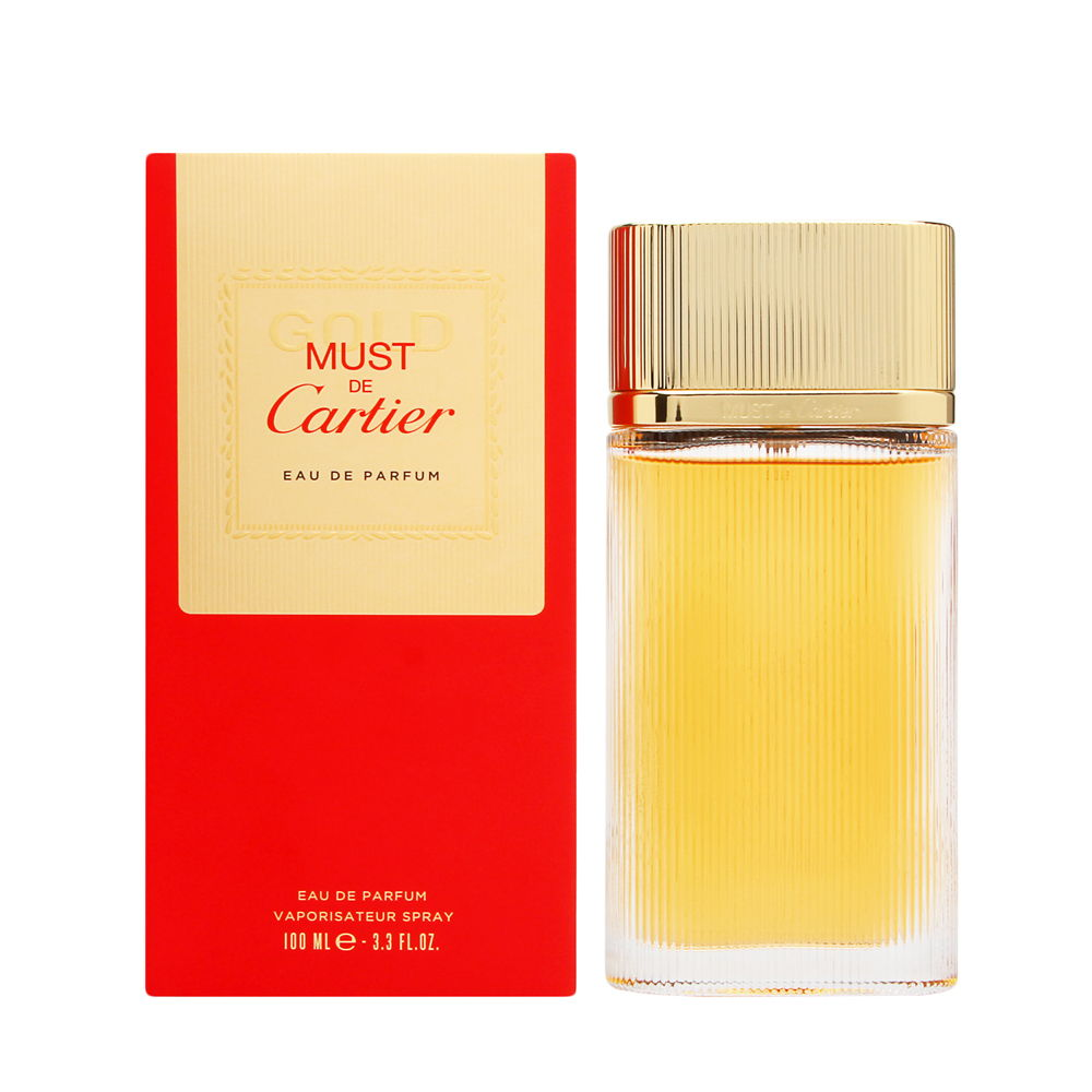 Must de Cartier Gold by Cartier for Women 3.3oz EDP Spray