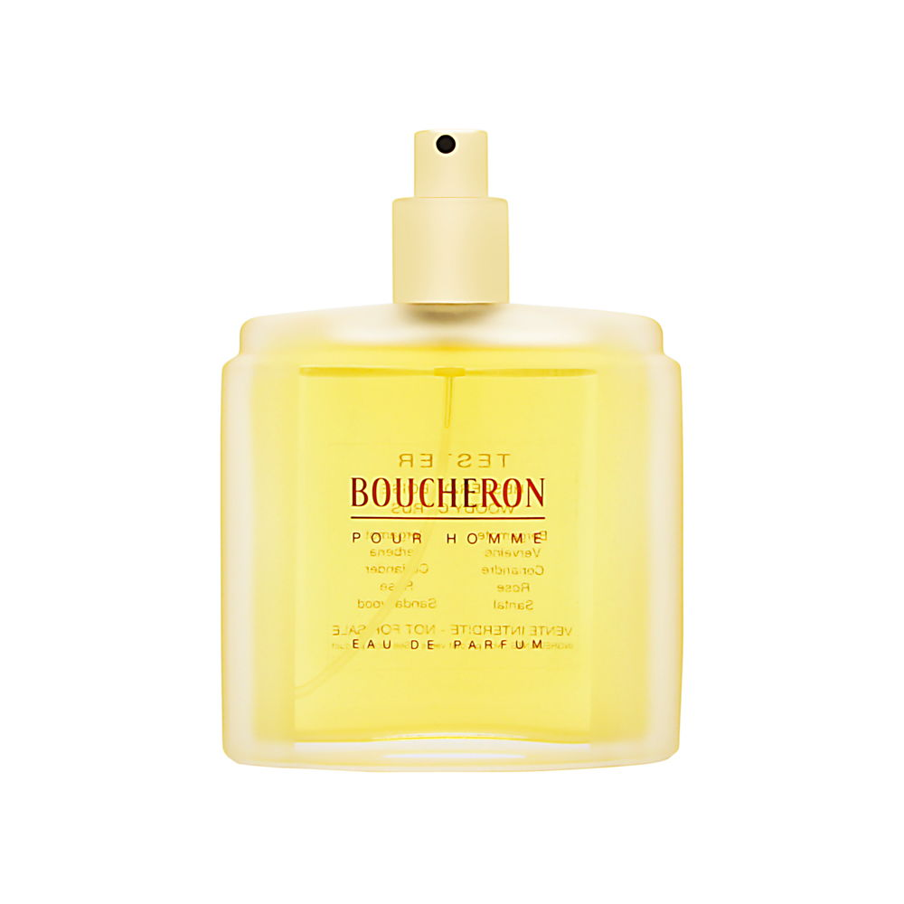Boucheron Pour Homme by Boucheron 3.3oz Cologne EDP Spray (Tester) Shower Gel