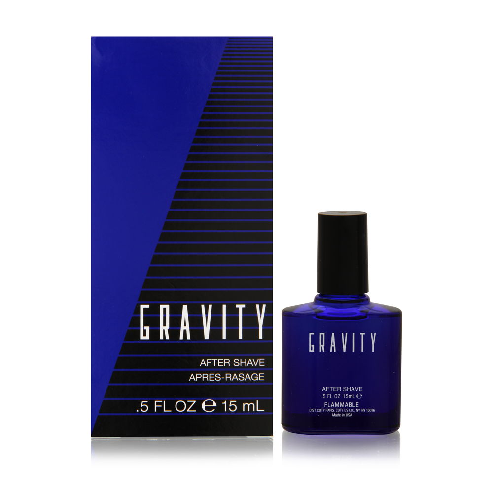 Gravity by Coty for Men 0.5oz Spray Aftershave Shower Gel
