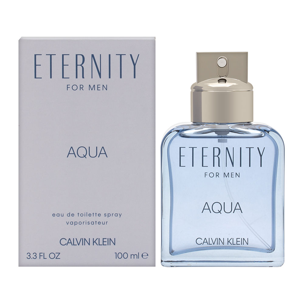 Eternity Aqua by Calvin Klein for Men 3.4oz EDT Spray