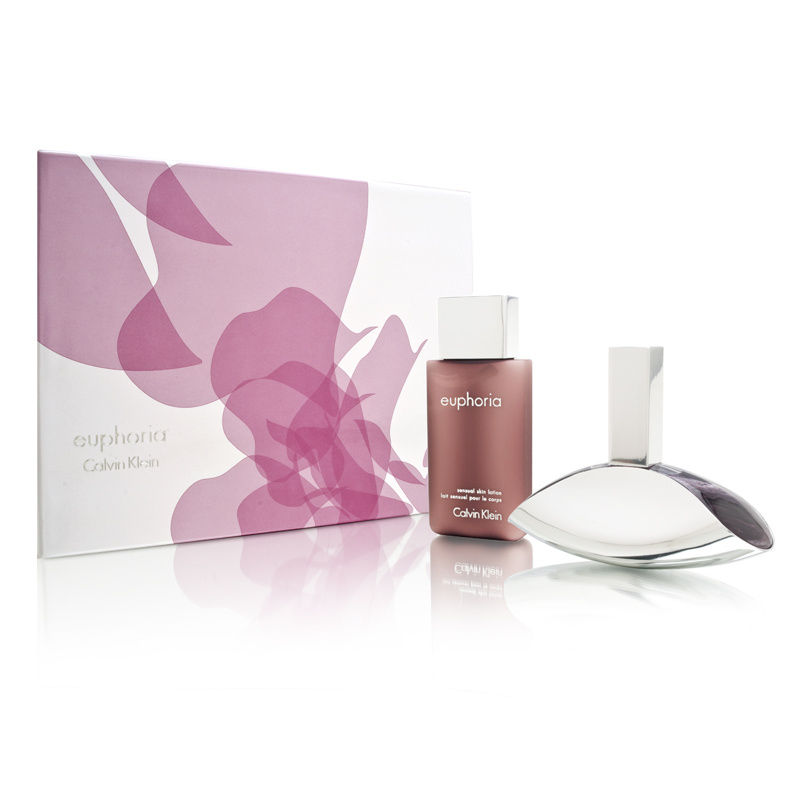 Euphoria by Calvin Klein for Women 3.4oz EDP Spray Gift Set