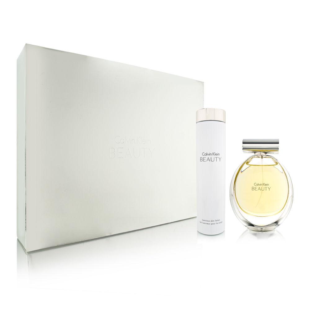 Calvin Klein Beauty for Women 3.4oz EDP Spray Gift Set