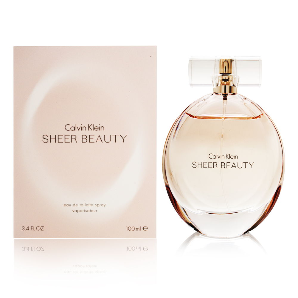 Coty Calvin Klein Sheer Beauty for Women 3.4oz EDT Spray